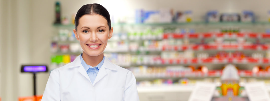 girl pharmacist