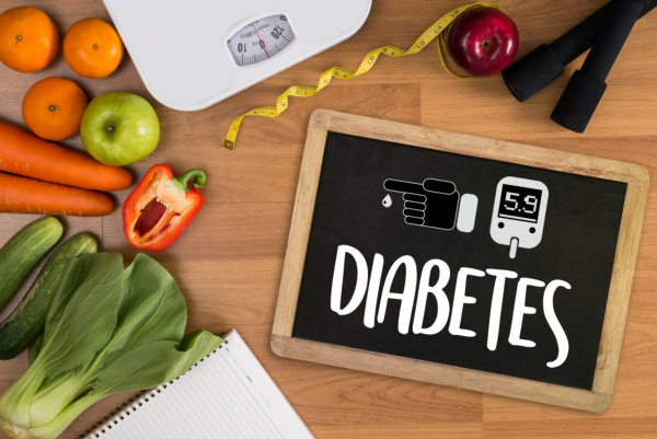 diabetes concept portrait